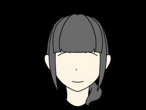 前髪ぱっつん